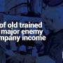 Loss of old trained staff major enemy of company income